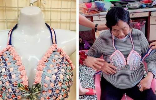 幫阿嬤過母親節!孝順媽媽「現金打造布啦夾」超精緻 網友發現「精美蝴蝶裝飾」笑:最貴的