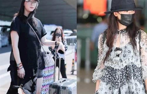 女神不再!林志玲薄紗透出黑色內搭,胖的差點就認成是蔣欣了!