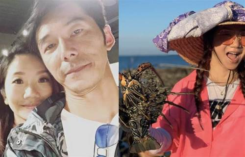 陶晶瑩全家離島遊「驚艷比峇裡島還美」抓龍蝦超簡單 大讚「在地人情味」:台灣真的很美