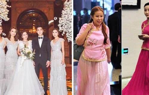 品一品女明星結婚選的伴娘裙,阿嬌選的最用心,有人的伴娘服卻不忍直視!